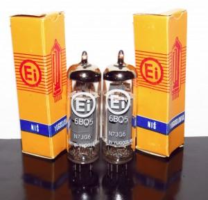 Ei EL84/6bq5 Yugoslavia